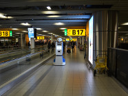 Data collection at Schiphol Airport.