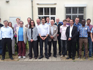 Everybody happy after the first review meeting in Freiburg.